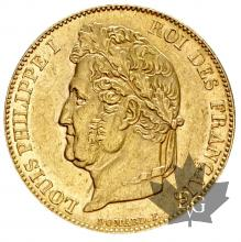 FRANCE-1844W-20 FRANCE-LOUIS PHILIPPE-SUP