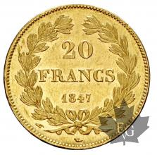 FRANCE-1847A-20 FRANCE-LOUIS PHILIPPE-prFDC