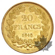 FRANCE-1848A-20 FRANCE-LOUIS PHILIPPE-SUP-FDC