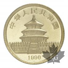 CHINE-1990-10 YUAN-PROOF