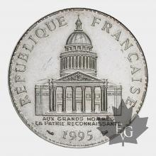 FRANCE-1995-100 FRANCS-PANTHEON-FDC