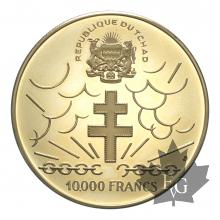 TCHAD-1970-10000 FRANCS-PCGS PROOF 69 DEEP CAMEO
