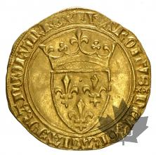 FRANCE-1380-1422-CHARLES VI-ECU OR-TTB-SUP