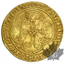 FRANCE-1422-1461-CHARLES VII- ECU A LA COURONNE-TTB