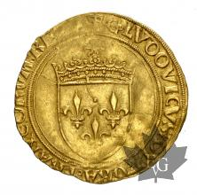 FRANCE-1498-1514-LOUIS XII- ECU OR AU SOLEIL-TTB