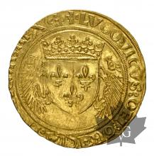 FRANCE-1498-1514-LOUIS XII- ECU AU PORC EPIC-TTB-SUP
