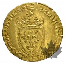 FRANCE-1515-1547-FRANCOIS I-ECU OR-TTB-SUP
