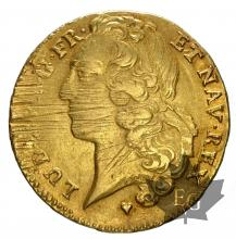 FRANCE-1759BB-DOUBLE LOUIS-prTTB