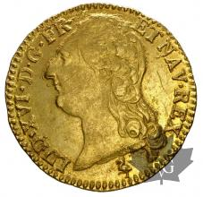 FRANCE-1786A-LOUIS XVI-1774-1793-LOUIS OR-SUP