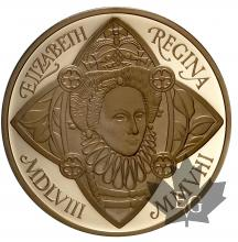GRANDE BRETAGNE-2008-5 POUNDS-ELIZABETH I-PROOF