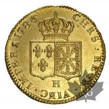 FRANCE-1786H-DOUBLE LOUIS-LOUIS XVI-SUP