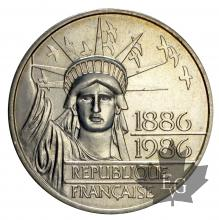 FRANCE-1986-100 FRANCS-PIEFORT LIBERTE-SUP