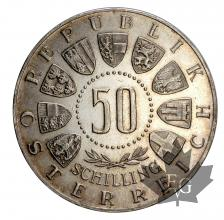 AUTRICHE-1963-50 SHILLING-PROOF