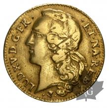 FRANCE-1760-DOUBLE LOUIS D'OR DE BÉARN-TTB