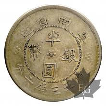 CHINE-1912-REPUBLIQUE-50 CENT AN 21(1932)-YUNAN-TTB-SUP