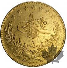 TURQUIE-AH 1293/2(1876)- 500 KURUSH-TTB