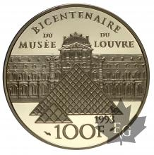 FRANCE-1993-100 FRANCS-MARIE MARGUERITE-PROOF