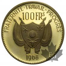 NIGER-1962-100 FRANCS-PROOF