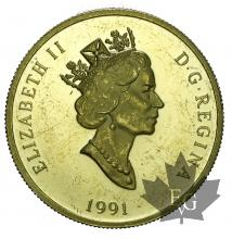 CANADA-1991-200 DOLLARS-PROOF