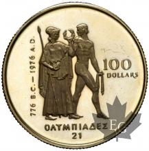 CANADA-1976-100 DOLLARS-PROOF