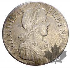 FRANCE-165(1)K-Ecu mèche longue-Louis XIV