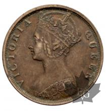 HONG KONG-1901-1 CENT-SUP