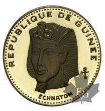 REPUBLIQUE DE GUINÉE-1970-5000 FRANCS-ECHNATON-PROOF