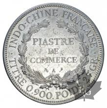 INDOCHINE-1905A-PIASTRE DE COMMERCE-TTB