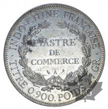 INDOCHINE-1924A-PIASTRE DE COMMERCE-TTB