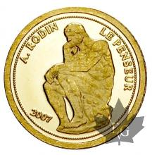 BENIN-2007-1500 FRANCS-PROOF