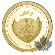 PALAU-2009-1 DOLLAR-PROOF