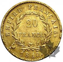 FRANCE-1810A-20 FRANCS Empire-ttb-sup
