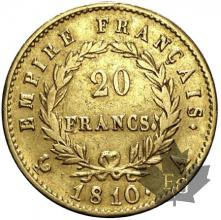FRANCE-1810A-20 FRANCS Empire-prBB