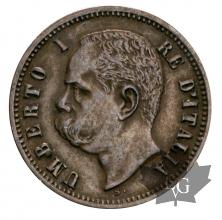 ITALIE- 1898-2 cent- SUP