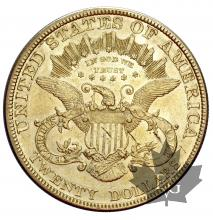 USA-1878-20 DOLLARS-TTB-SUP