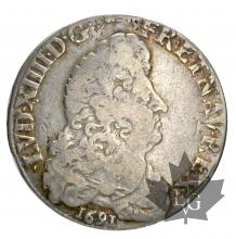 FRANCE-1691L-1/2 ECU AUX 8L-REFORMATION-TB-TTB
