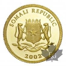 SOMALIE-2002-50 SHILLINGS-PROOF
