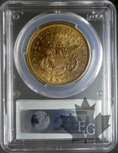 USA-1876S-20 DOLLARS-SUP-PCGS AU58