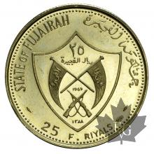 FUJAIRAH-1969-25 RIYALS-PROOF