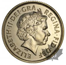 GRANDE BRETAGNE-2009-SOVEREIGN-PROOF