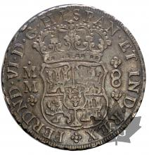 MEXIQUE-1756MM-8 REALES-FELIPE VI-SUP
