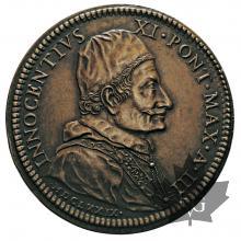 VATICAN-1679-MÉDAILLE-INNOCENTIUX XI-SUP