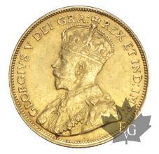 CANADA-1912-5 DOLLARS-GEORGE V-SUP-FDC