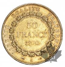 FRANCE-1900A-50 FRANCS-III REPUBLIQUE-SUP