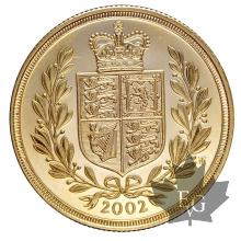 GRANDE BRETAGNE-2002-2 POUNDS-PROOF