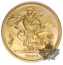 GRANDE BRETAGNE-2003-2 POUNDS-PROOF