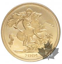 GRANDE BRETAGNE-2004-2 POUNDS-PROOF