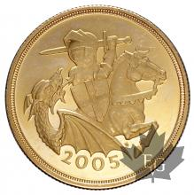 GRANDE BRETAGNE-2005-2 POUNDS-PROOF