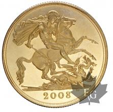 GRANDE BRETAGNE-2008-2 POUNDS-PROOF