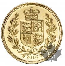 GRANDE BRETAGNE-2002-SOVEREIGN-PROOF